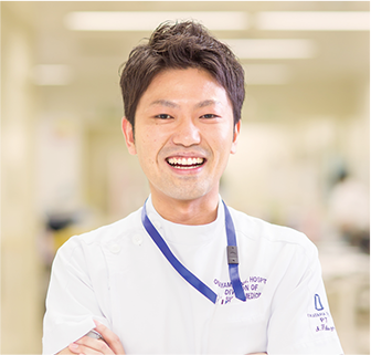 画像:総合リハビリテーション部 理学療法士 福添 伸吾